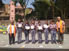 Highest Marks in Sanskriti Gyan Priksha