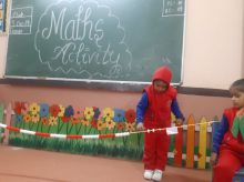 Maths Activity - Kids World - 2019